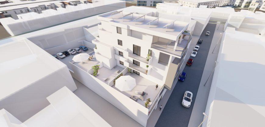 Via Duca D'Aosta appartamento trilocale nuova costruzione con ampia veranda