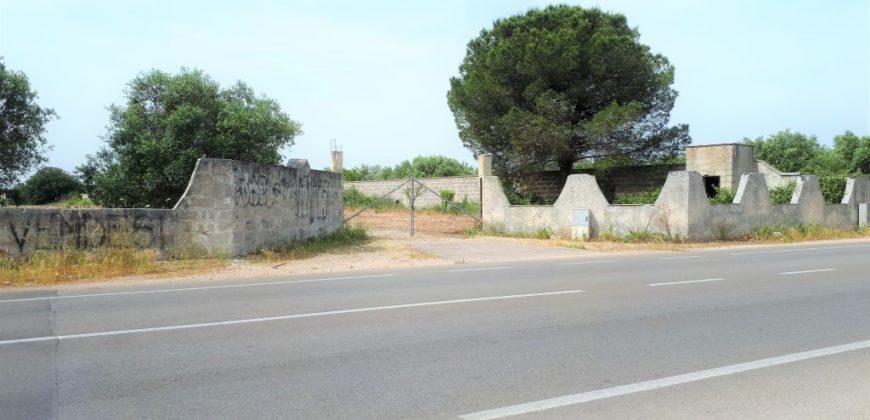 Via Merine Terreno edificabile opportunità immobiliare per investitori