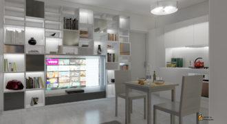 Zona centrale nuova costruzione appartamento trilocale con comodo balcone